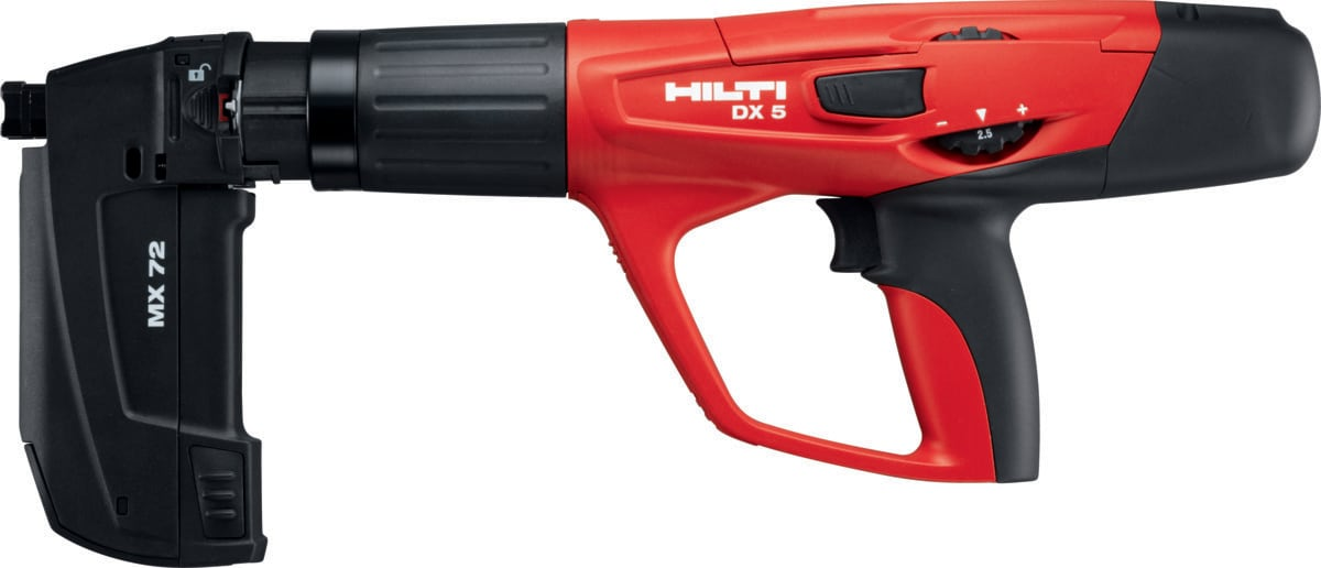 DX 5 MX powder-actuated tool