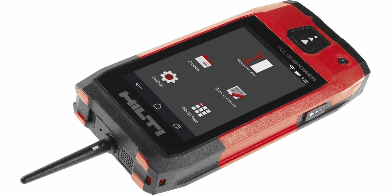 Hilti PD-CS laser range meter with integrated camera module