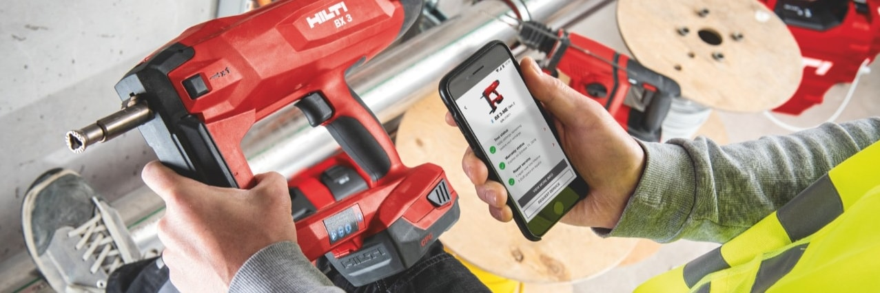 Hilti Connect App brings hassle-free tool services to your fingertips