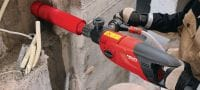 SPX-L hand-held (BR) Ultimate hand-held core bit for all types of concrete – for low-power tools (<2.5 kW), BR 1/2 connection end Applications 2