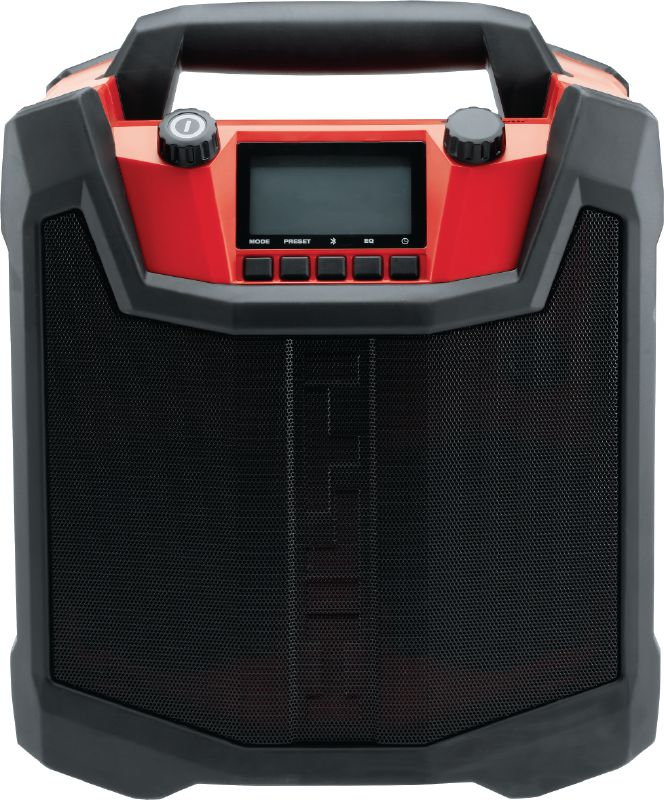 RC 4/36-DAB Robust jobsite radio with DAB, Bluetooth® pairing and charger for 12V-36V Hilti batteries