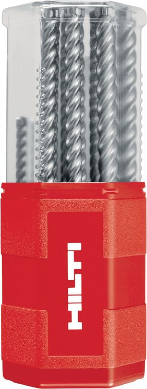 TE-CX SDS Plus drill bits (metric) Ultimate SDS Plus (TE-C) hammer drill bits sets with different bit diameters and lengths (metric)