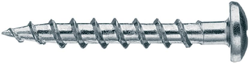 S-WS 03 Z Single drywall screw (zinc-plated) for fastening electrical sockets to wood