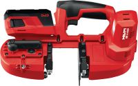 SB 4-A22 Cordless band saw 22V cordless band saw with LED light and a maximum cutting depth of 63.5 mm (2 1/2)