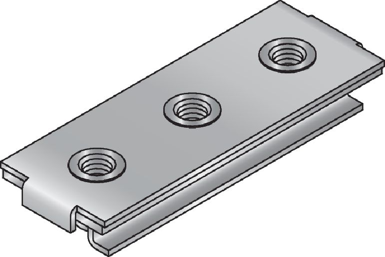 MSG-SE Premium galvanised slide connector for medium-duty heating and refrigeration applications