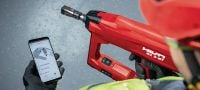 BX 3-BT 02 22V cordless nailer for fastening X-BT threaded stud Applications 4