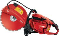 DSH 900-X Powerful rear-handle hand-held 87 cc petrol saw with auto-choke – cutting depth up to 150 mm