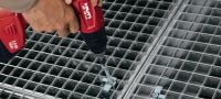 X-MGR Grating fastener Mechanically fastened grating fastener Applications 1