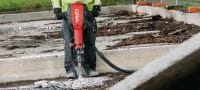 TE 3000-AVR universal cord Exceptionally powerful concrete demolition hammer for heavy-duty floor demolition Applications 2